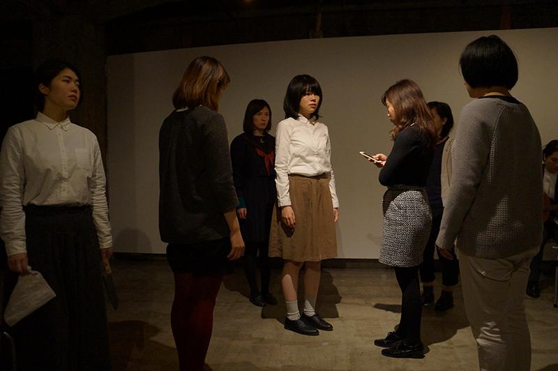 第二回公演「まがいものの乙女たち」公演写真